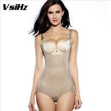 vsihz women's tummy control underbust slimming underwear shapewear body shaper control waist cincher firm bodysuits