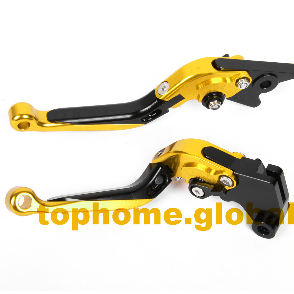 Motorbike Accessories CNC Foldable&Extendable Brake Clutch Levers For Buell S1 Lightning 1997-1998 orange motorbike foldable