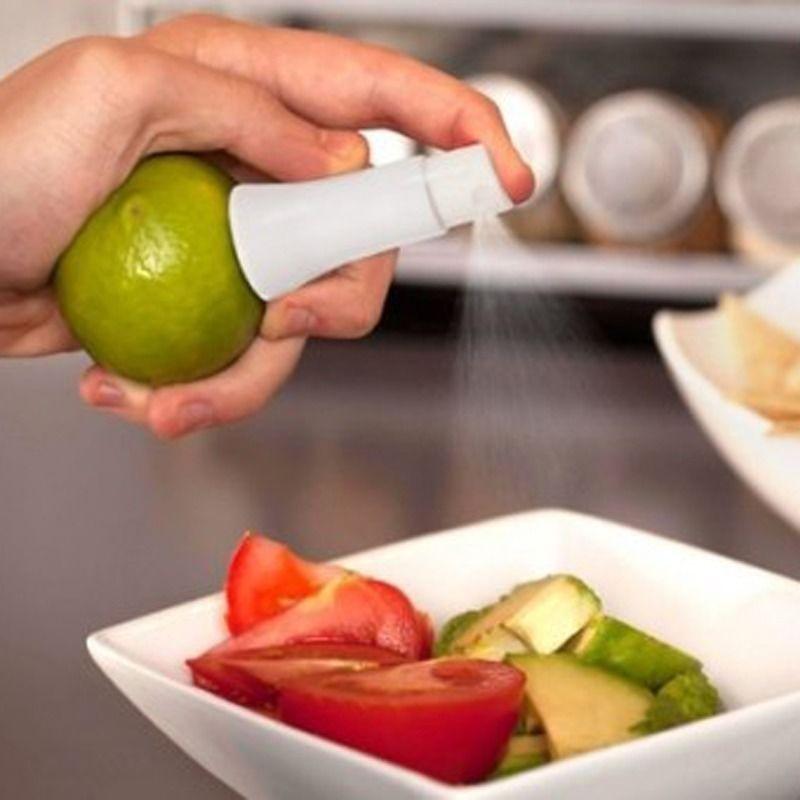 New Kitchen Gadgets Lemon Sprayer Fruit Juice Citrus Spray Cooking Tools Accesorios VBR28 P50