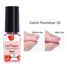 LEMOOC 8/15ML Fruit Smell Dried Flowers Nail Cuticle Oil Care Finger Transparent Revitalizer Nutrition Nourishing Liquid