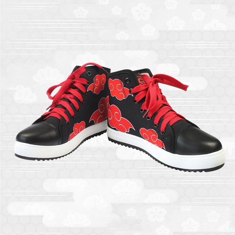 Naruto Akatsuki Clouds Shoes  1