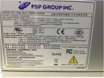 Fsp600 80psa tower font b server b font special power supply bronze 80plus