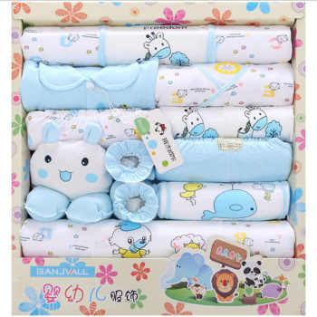 18pcs/set Newborn Baby Clothing Sets Baby Boy Clothes Infants Suit Baby Girls Boys Clothes set baby romper bibs gloves hat - Category 🛒 Mother & Kids