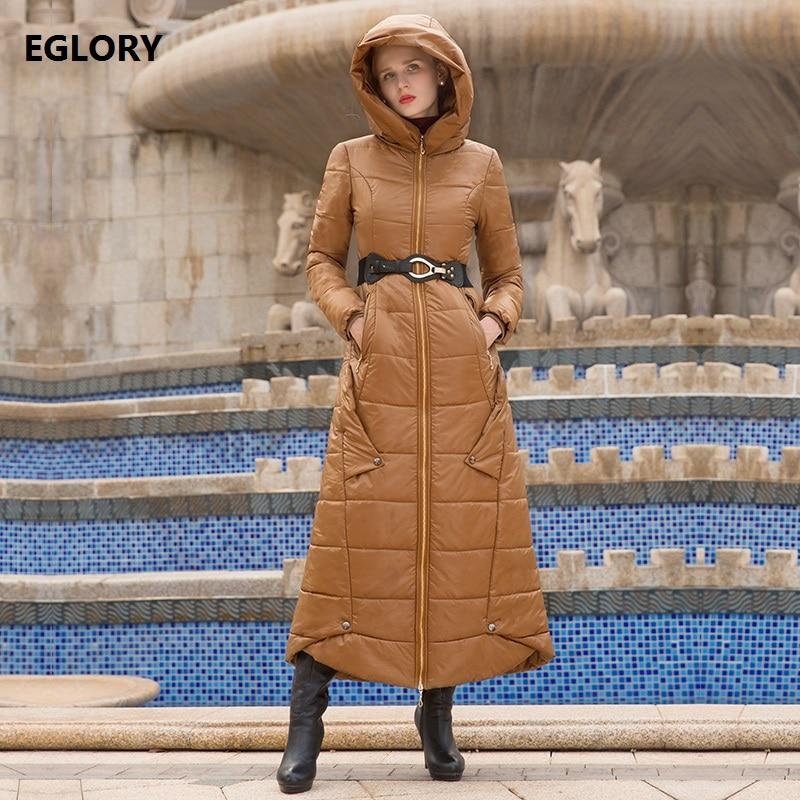 New Korean Fashion Winter Long Coats 2017 High Quality Women Hooded Warm Thick Parka Cotton Long Plus Size Outerwear Coats XXXL 2017 new women autumn winter thick warm hooded cotton coats
