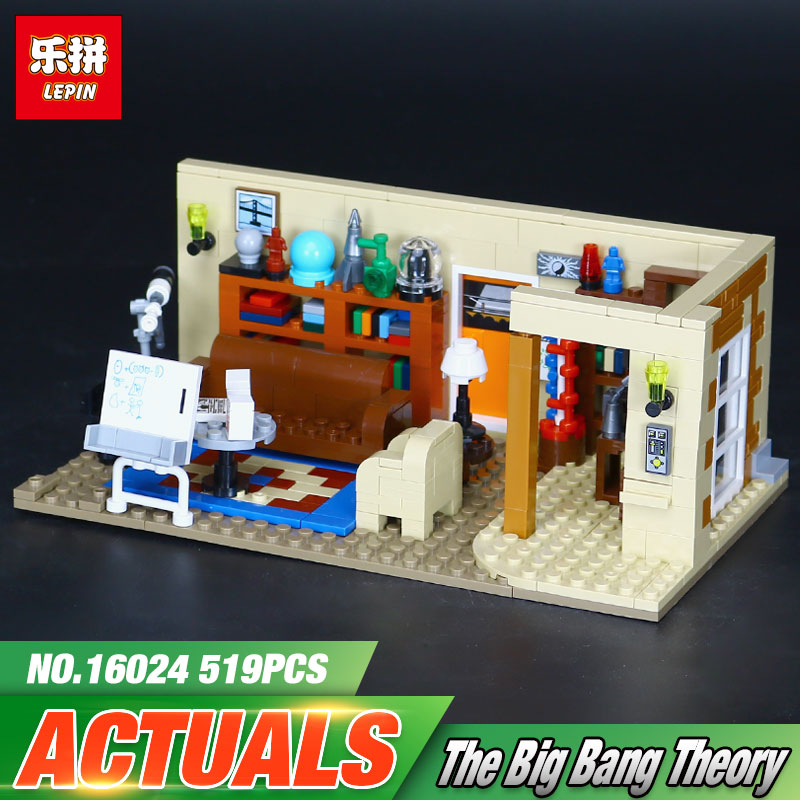 Lepin 16024 534Pcs Genuine IDEAS Series The Big Bang Set 21302 Educational Building Blocks Bricks Compatible Children Toys Gift отпариватель galaxy gl 6203