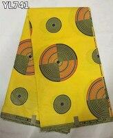 Buen precio buena calidad ankara tela de la cera africana al por mayor de algodón impresiones de la cera para el partido de cena vestido YL741