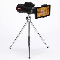 40x60 Powerful Binoculars With Phone Holder Zoom Binocular Field Glasses Handheld Telescopes Military HD Outdoor Camping