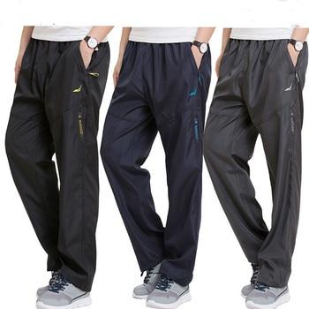 Plus Size 4XL 5XL 6XL Men's Sweatpants Outside joggers Exercise Pants Men Sportswear Working Active Pants Male pockets Trousers Casual Pants
