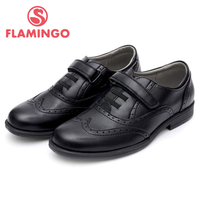 FLAMINGO 100% Russian Famous Brand 2016 New Arrival Spring & Autumn children Fashion High Quality Shoes 52-CT306