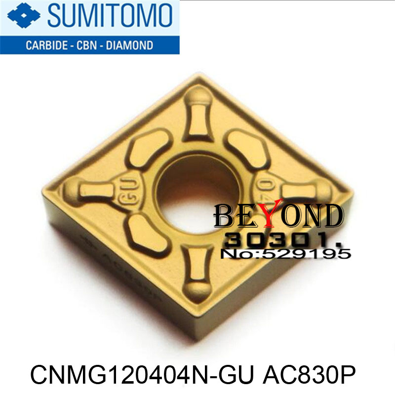 CNMG120404N GU AC830P Sumitomo Carbide Tip Lathe Insert Milling Blade Quality Assurance High Cost Worth You
