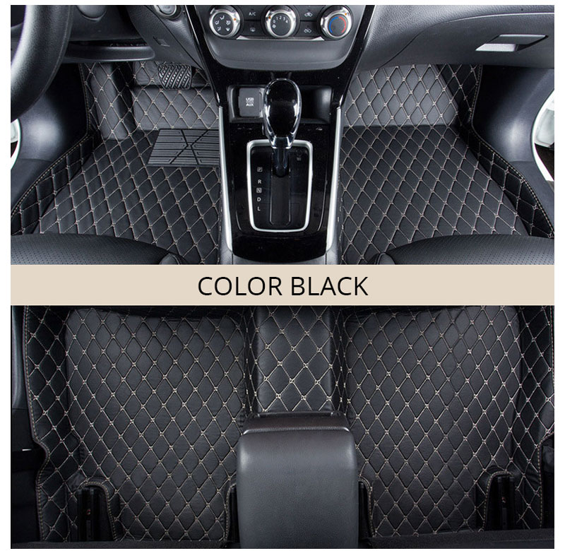 For LHD Hyundai Kona Kauai 2018 2017 Floor Mats Custom Rug Auto Interior Foot Mat Pad Hyundai Encino Car Accessories Car-styling (2)