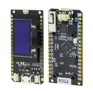 Image 1 - LILYGO®TTGO LORA32 V1.0 868/915Mhz ESP32 LoRa OLED Display Da 0.96 Pollici Bluetooth WIFI ESP32 ESP 32 Modulo con Antenna