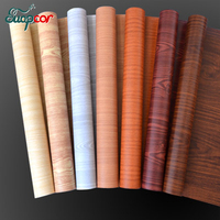 5 10meter Classic Home Decor Wall Sticker Vintage Vinyl Wooden Self Adhesive Wall Paper Roll PVC
