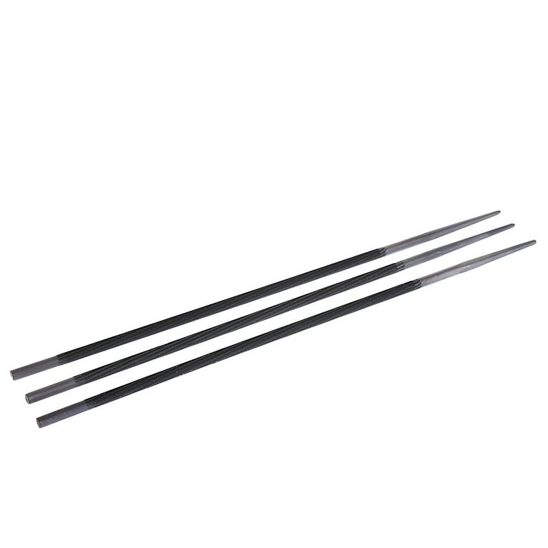 3x Pro 3/8 4,8mm Runde Kettensäge Kette Dateien Einreichung Spitzer Für Holz Handwerkzeuge Werkzeuge