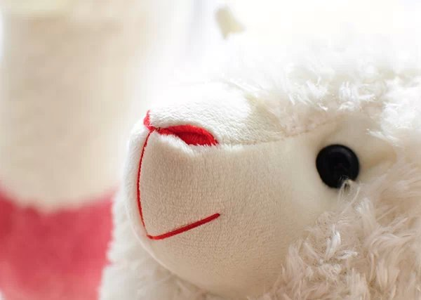 Ən yeni 20cm Alpaca Peluş Kukla Oyuncağı Sevimli Kiçik Qoyun - Peluş oyuncaqlar - Fotoqrafiya 5