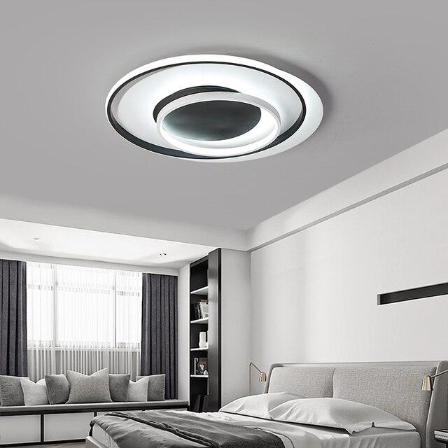 Postmodern Overlapping LED Ceiling Lamp Lights