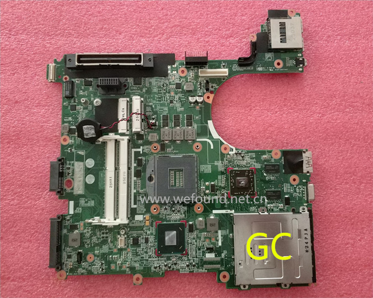 цена на laptop Motherboard For 8560P 684322-001 684323-001 646967-001 system mainboard Fully Tested