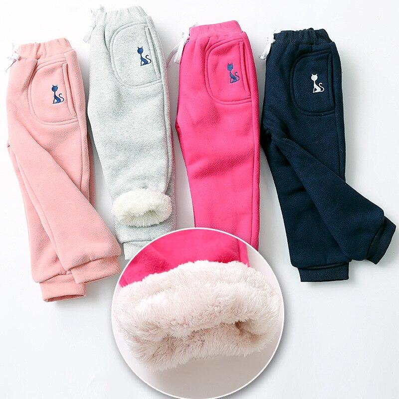 Meninos calças esportivas crianças calças outono inverno roupas de bebê meninas sweaterpants personagem gato crianças leggings para meninos meninas