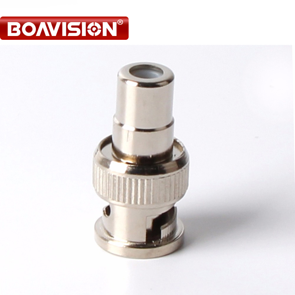 10Pcs PCS CCTV BNC Male to RCA Female Coal Convert Plug BNC Connector 10pcs pcs cctv bnc male to rca female coal convert plug bnc connector