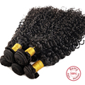 EVET Peruvian Afro Curly Wave Hair Extensions Kinky Curly Virgin Hair 1 Bundles Unprocessed Human Curly Hair Wefts 100g/pcs