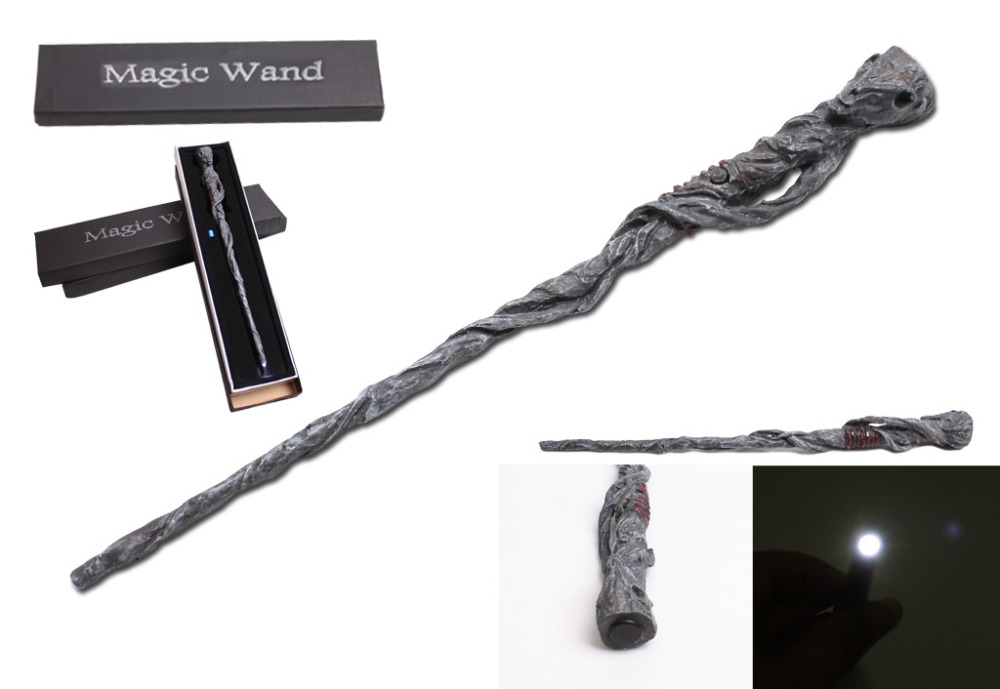 Hot Selling Led Lighting Wand Christmas Gift Mr Potter Magical Wand New In Box Cosplay Boys Girls Toys