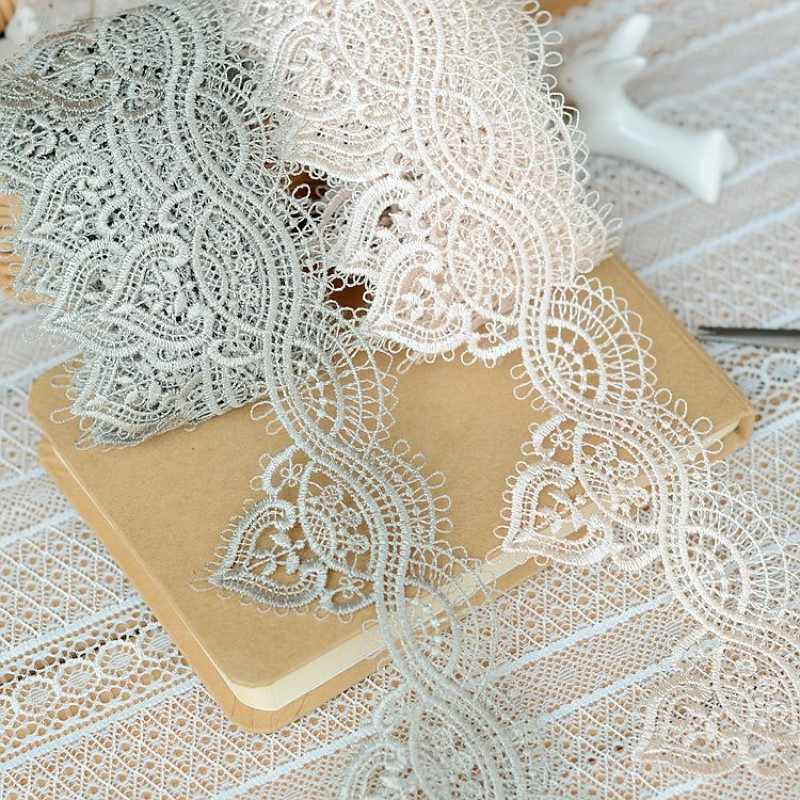 2019 hot sale Lace accessories Light skin shallow tarmac palace restoring ancient ways type water soluble lace 5.5 cm H5502