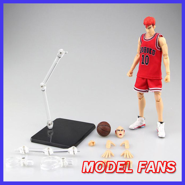 MODEL FANS IN-STOCK gt model SLAM DUNK Hanamichi Sakuragi action figure huong anime slam dunk 24cm mitsui hisashi hanamichi sakuragi pvc action figure collectible toy model brinquedos christmas gift