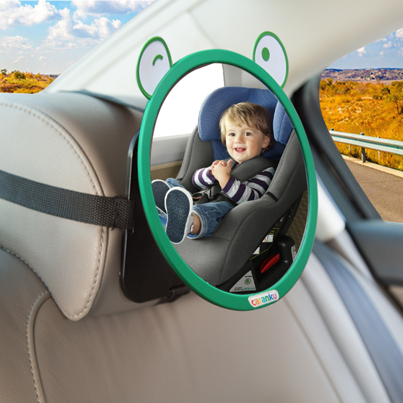 Safety Seat Rear View Mirror Child Observation Mirror Baby Car Baby Reverse Basket View Mirror Reflector