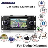Liandlee For Dodge Magnum 2005~2007 Android Car Radio CD DVD Player GPS Navi Navigation Maps Camera OBD TV Screen BT Media