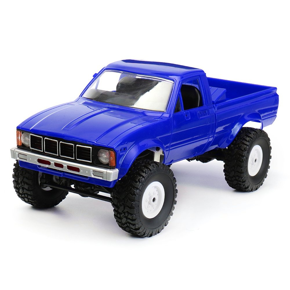 In Lager Wpl C-24 1/16 4wd 2,4g Military Lkw Buggy Crawler Off Road Rc Auto 2ch Rtr Spielzeug Kit Ohne Elektrische Teile Diy Rc Modell Mild And Mellow Fernbedienung Spielzeug