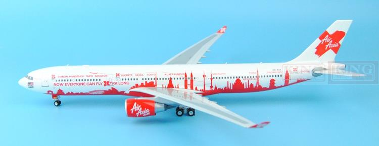 Eagle New: 100024 aviation Asian 9M-XAA 1:200 A330-300 commercial jetliners plane model hobby