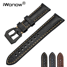 Italy Genuine Calf Leather Watchband 20/22/24/26mm for Armani Diesel Fossil Time