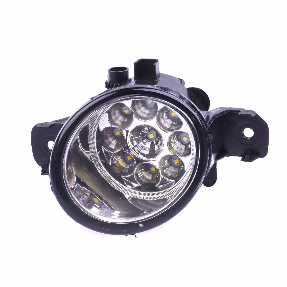 For NISSAN QASHQAI 2 NV400 Altima Maxima Sentra Rogue Pathfinder 2004 2015 Car styling LED fog