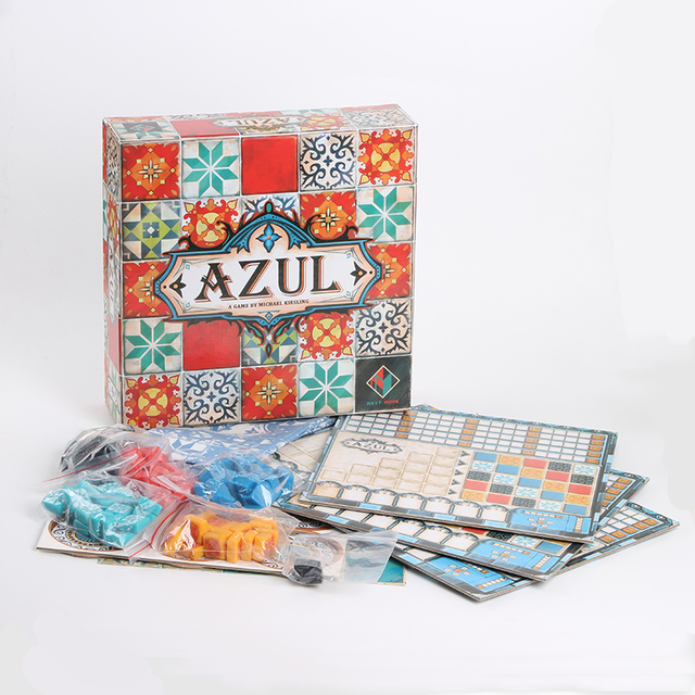 Azul Board Game Colorful Puzzle Artist Table Games for Children