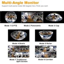 960P 3D VR WI-FI Camera 360 Degree Panoramic IP Camera, 1.3MP FIsheye Wireless Wifi Smart Camera, TF Card Slot Home Security