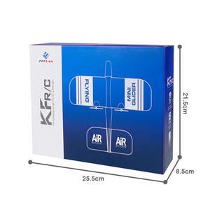 Image 4 - 2019 KFPLAN KF606 2.4Ghz 2CH EPP Mini kryty RC szybowiec samolot wbudowany Gyro RTF dobra elastyczność, silna odporność na upadek