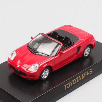 1/64 Kyosho Toyota Mrs SW20 Spider Gt Racing Sport Diecasts & Toy Vehicles Model Schaal Auto S Metalen Miniaturen Voor Jongens collectie