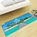 Морской пляж ковер для гостиной спальни ковры прикроватные коврики противоскользящие ковры для детей Кухонные коврики Детский коврик