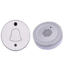 2MP Mini Door Viewer Camera with 2.4Ghz WIFI Door Phone Receiver for Photo Push by App or Wechat Support Cloud & Local Storage