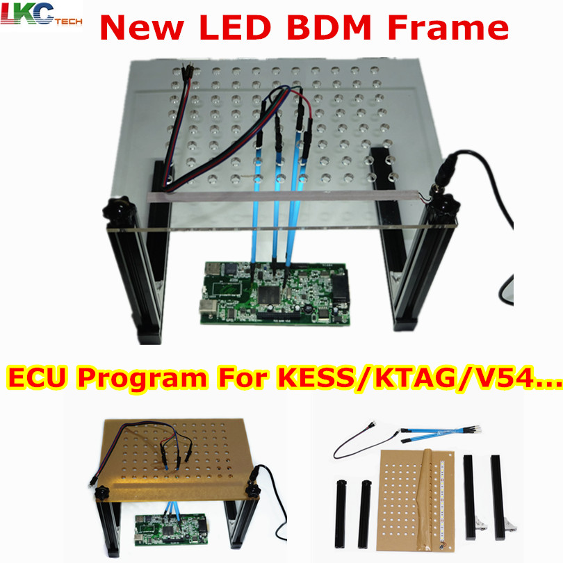 Just Newest Ktag Kess Ktm Dimsport Bdm Probe Adapters Full Set With Led Bdm Frame With Mesh 4 Probe Pen For Fgtech Bdm100 Kess Ktag Code Readers & Scan Tools