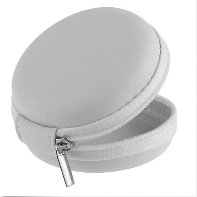 New Women Zipper Waterproof Desk Clip Holder Storage EVA Earphone ...