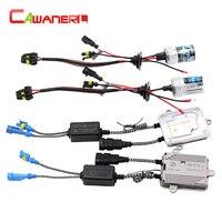 Cawanerl 55W Car HID Xenon Kit 12000K AC Ballast Lamp Auto Fog Light Headlight DRL 9005