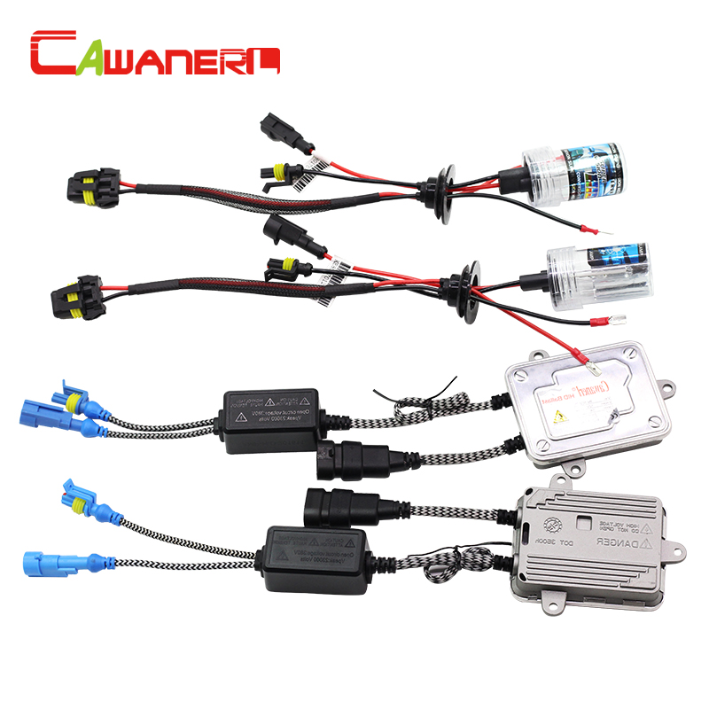 Cawanerl 55W Car HID Xenon Kit 12000K AC Ballast Lamp Auto Fog Light Headlight DRL 9005 HB3 H10 9006 HB4 H1 H3 H7 H8 H11 880 881
