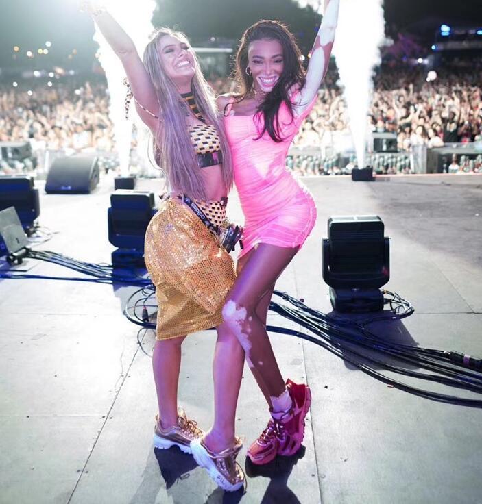2019 nouvelles femmes Sexy célébrité fête Bandage robe Lotus feuille fronde rose Club robe Vestidos