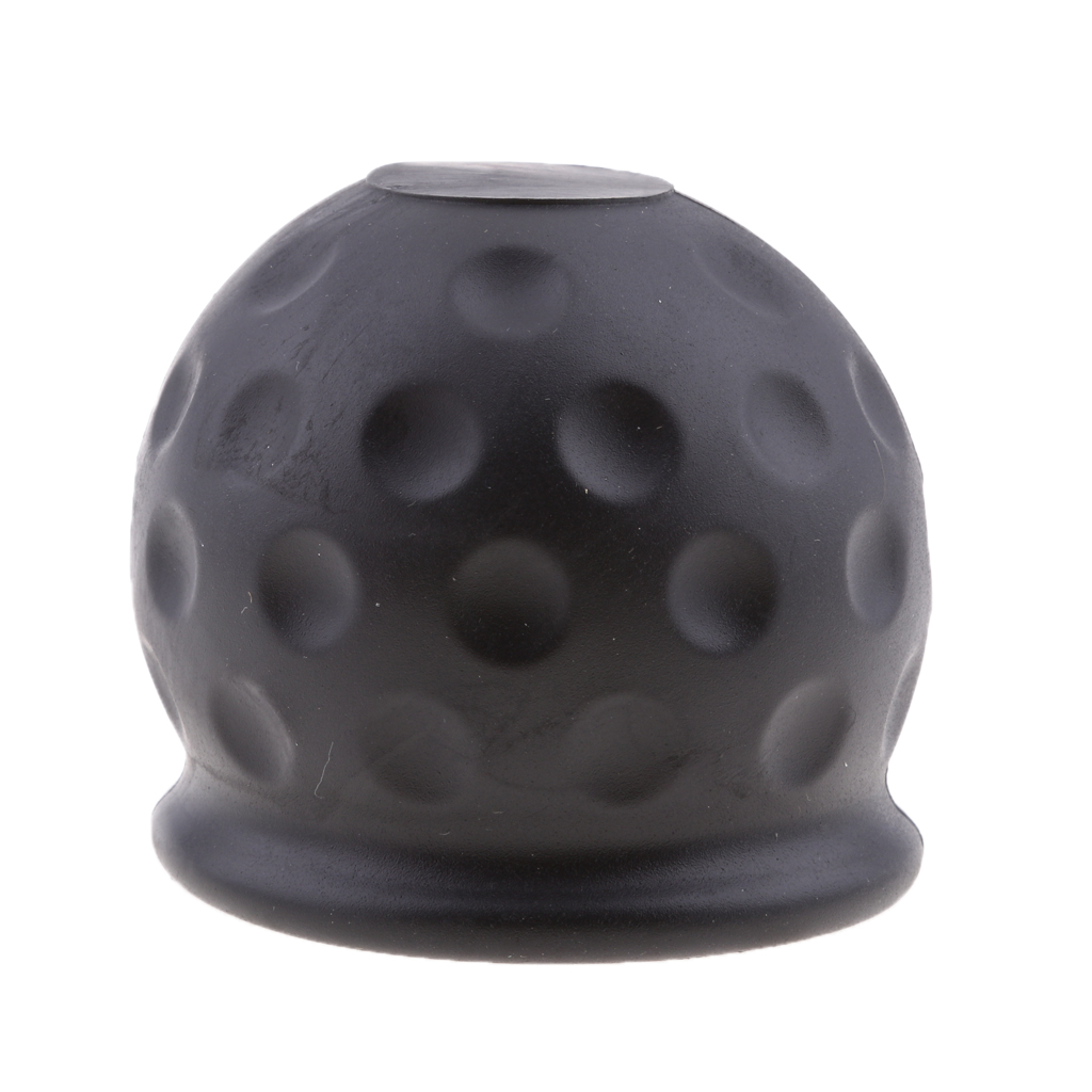 50mm Car Towbar Towball Plastic Cap Tow Ball Towing Protective Cover Black Trailer Coupling & Accessories-in Trailer Couplings & Accessories from Automobiles & Motorcycles