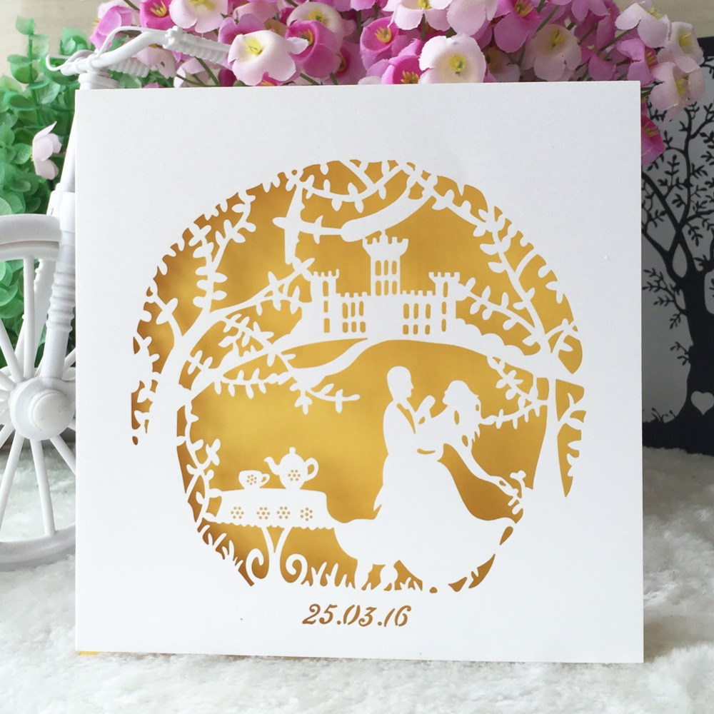 50pcs/lot fairy tale theme wedding party decoration paper craft ...