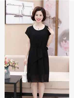 7491182afc0fb Detail Feedback Questions about 2018 new mother dress 40 50 year old ...