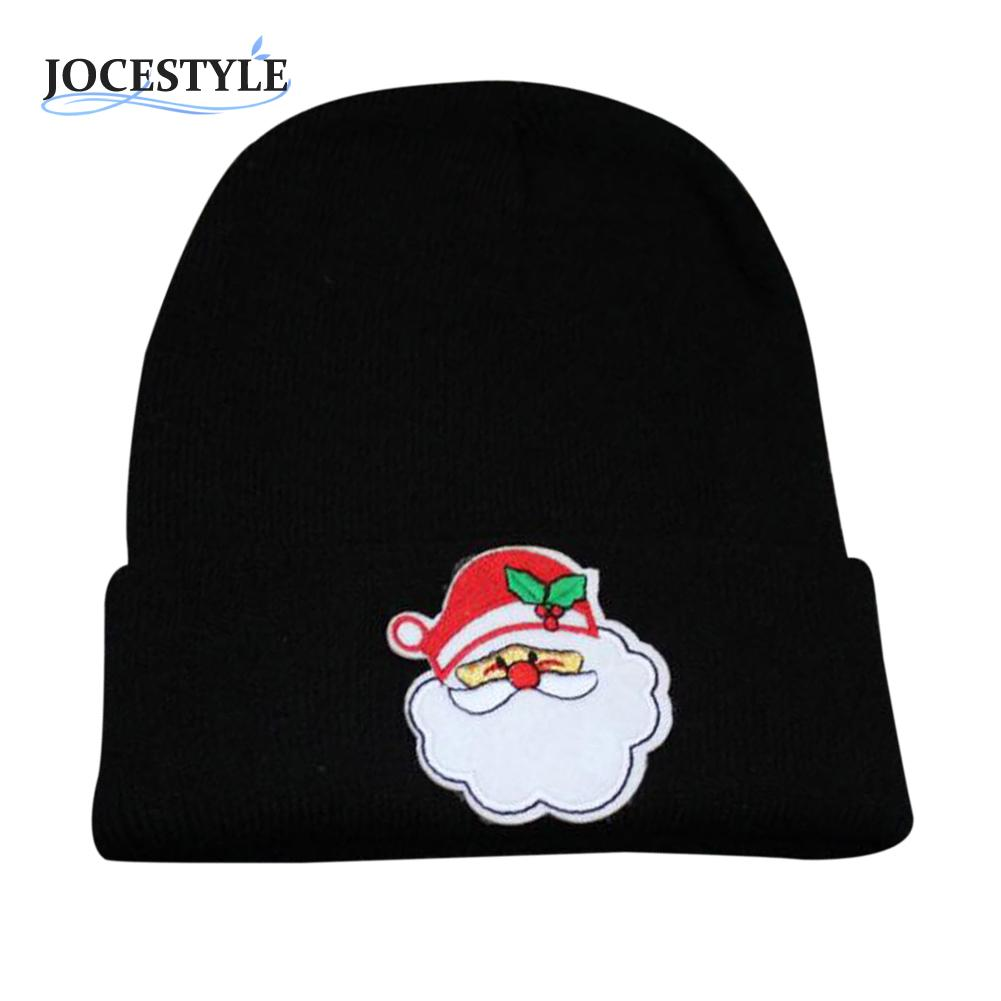 Autumn Winter Caps Warm Wooly Casual Beanies for Men Women Cartoon Christmas Knitting Hats Gorro Hip-hop Slouch Skullies Bonnet
