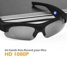 946fecdb9642e HD 1080 p Esporte Ao Ar Livre Preto Polarizada Óculos Câmera Mini Gravador  de Vídeo Óculos