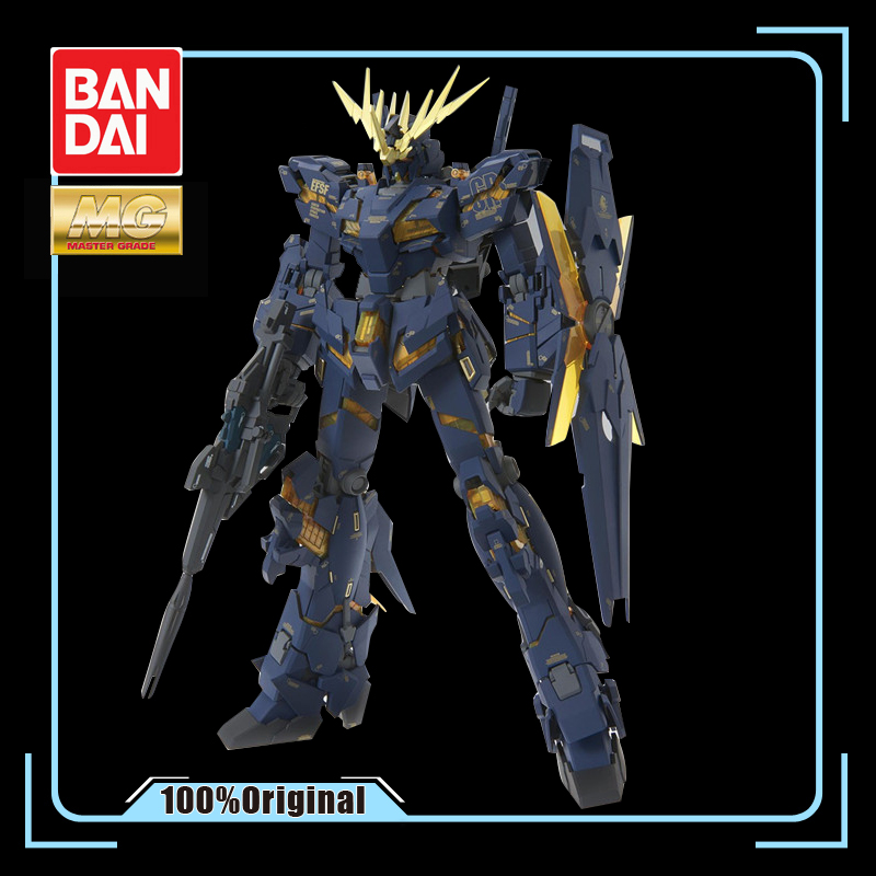 BANDAI MG 1/100 RX-0 UNICORN GUNDAM-02 BANSHEE Effects Action Figure Model ModificationBANDAI MG 1/100 RX-0 UNICORN GUNDAM-02 BANSHEE Effects Action Figure Model Modification
